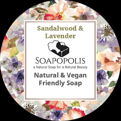 Sandalwood & Lavender soap