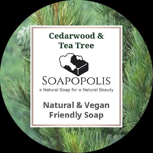 Cedarwood & Tea Tree soap