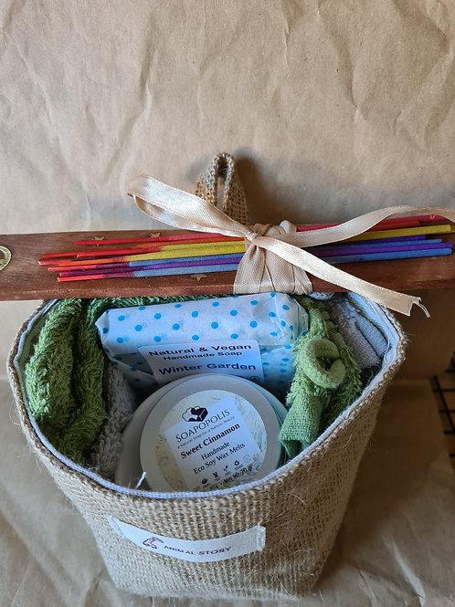 hanging basket hamper gift