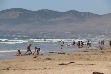 Outdoor recreation on the beach in Oceano Dunes