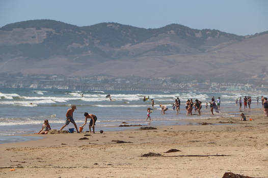 Outdoor recreation on the beach in Oceano Dunes