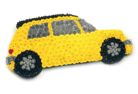 floral car arrangement