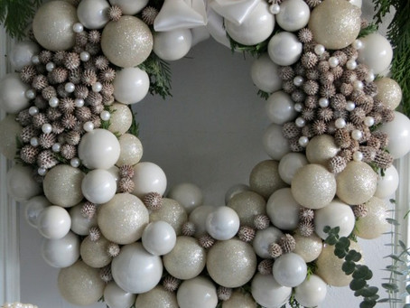 Fresh Pine Wreaths: Celebrate Christmas In Style.