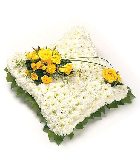 flower arrangement cushion