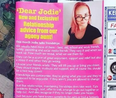 Dear Jodie- Friendships