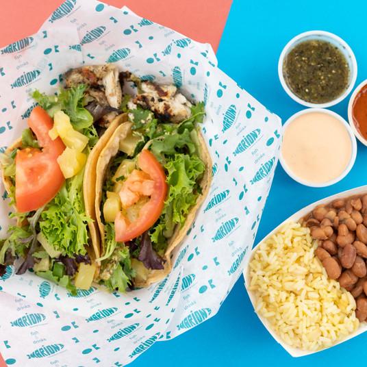 mahi mahi taco combo