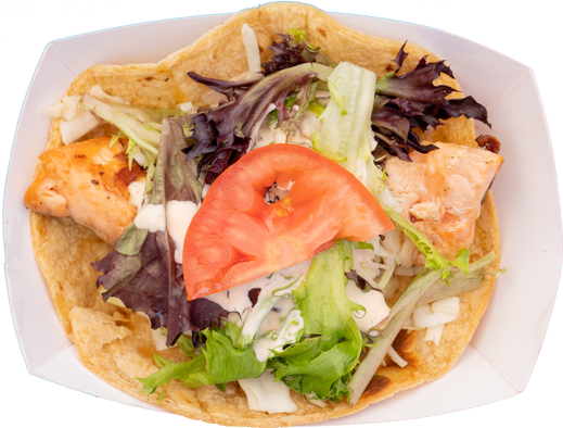 grilled salmon taco (1 pc)