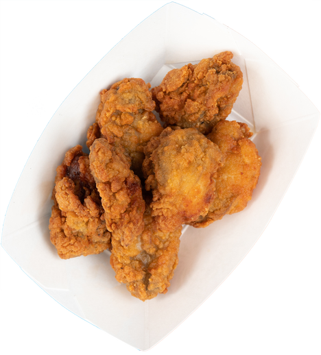 fried oysters (6 pcs)