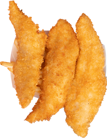 fried fish sticks (3 pcs)
