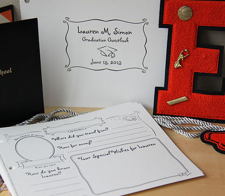 Wedding Guest Book Page