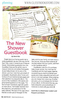 Guestbookstore.com The New Shower Guetbook