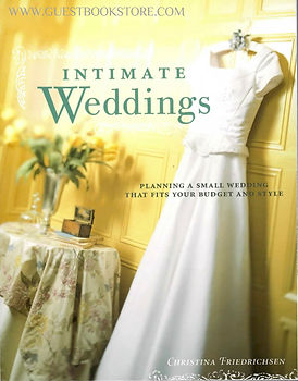 Guestbooksore.cm featured in Intimate Weddings