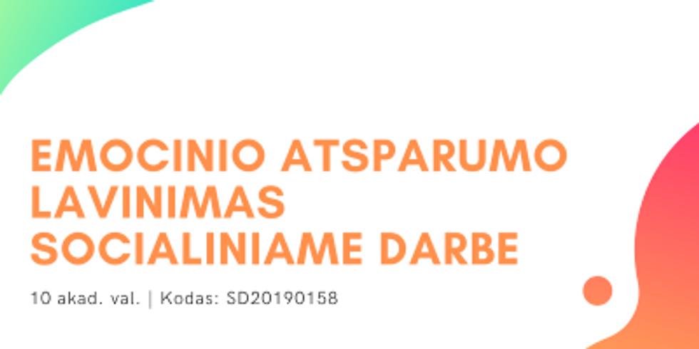 EMOCINIO ATSPARUMO LAVINIMAS