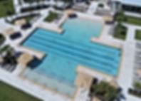 Terrazzo pool coping