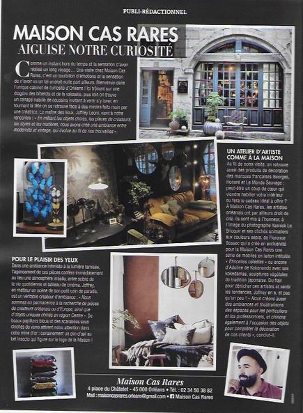 Création unique pour la Maison_cas _rare à Orléans  4 place du Chatelet 45000 Orléans