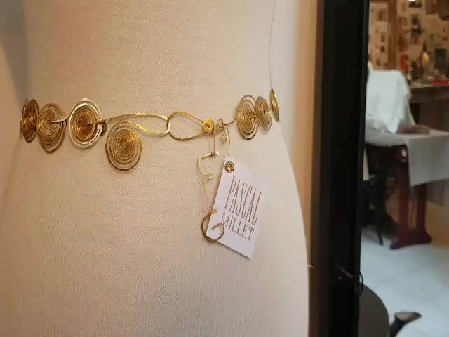 Collection de bijoux Florence Gossec pour Pascal Millet