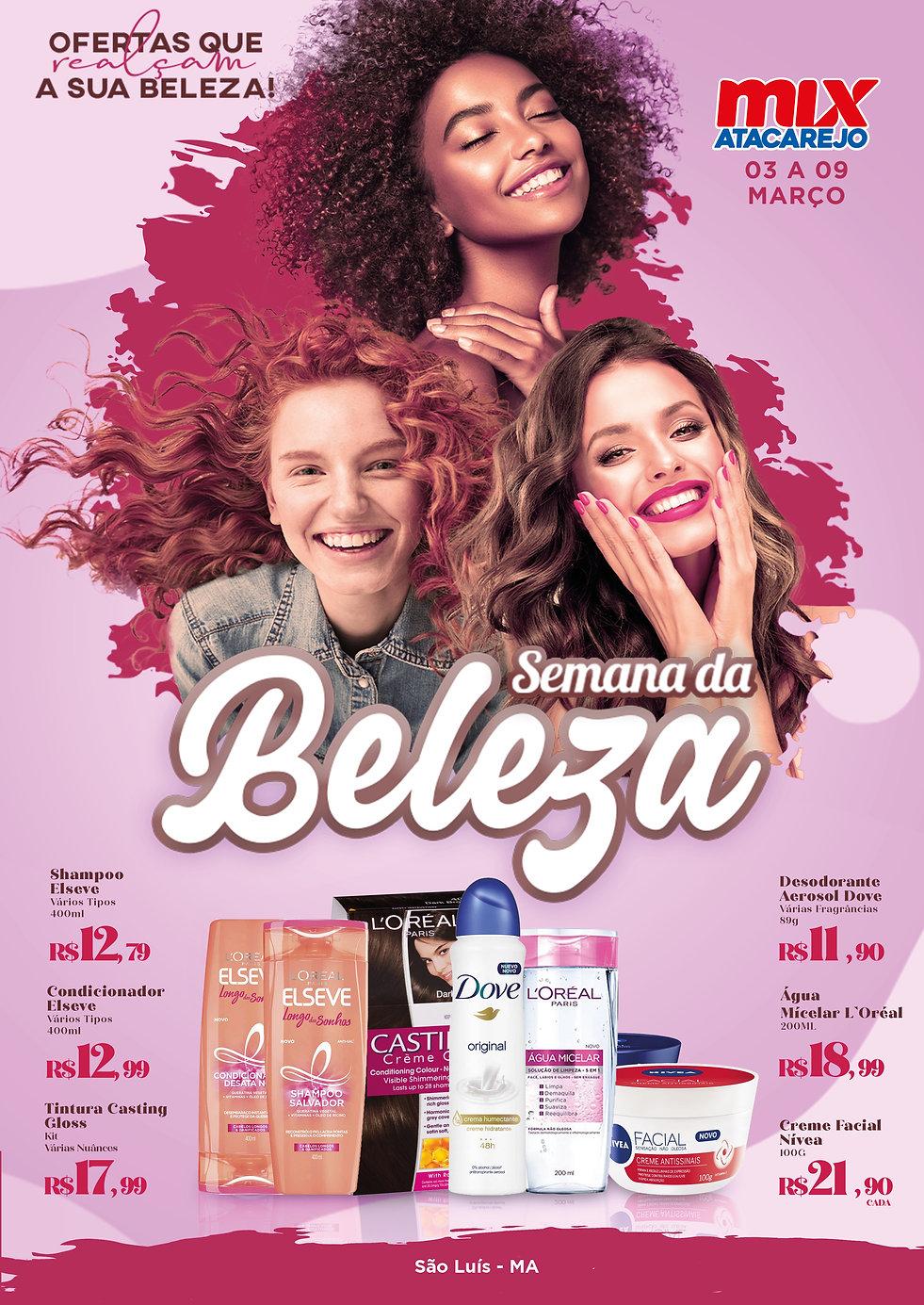 Semana da Beleza 03 a 09 de março SLZ.j