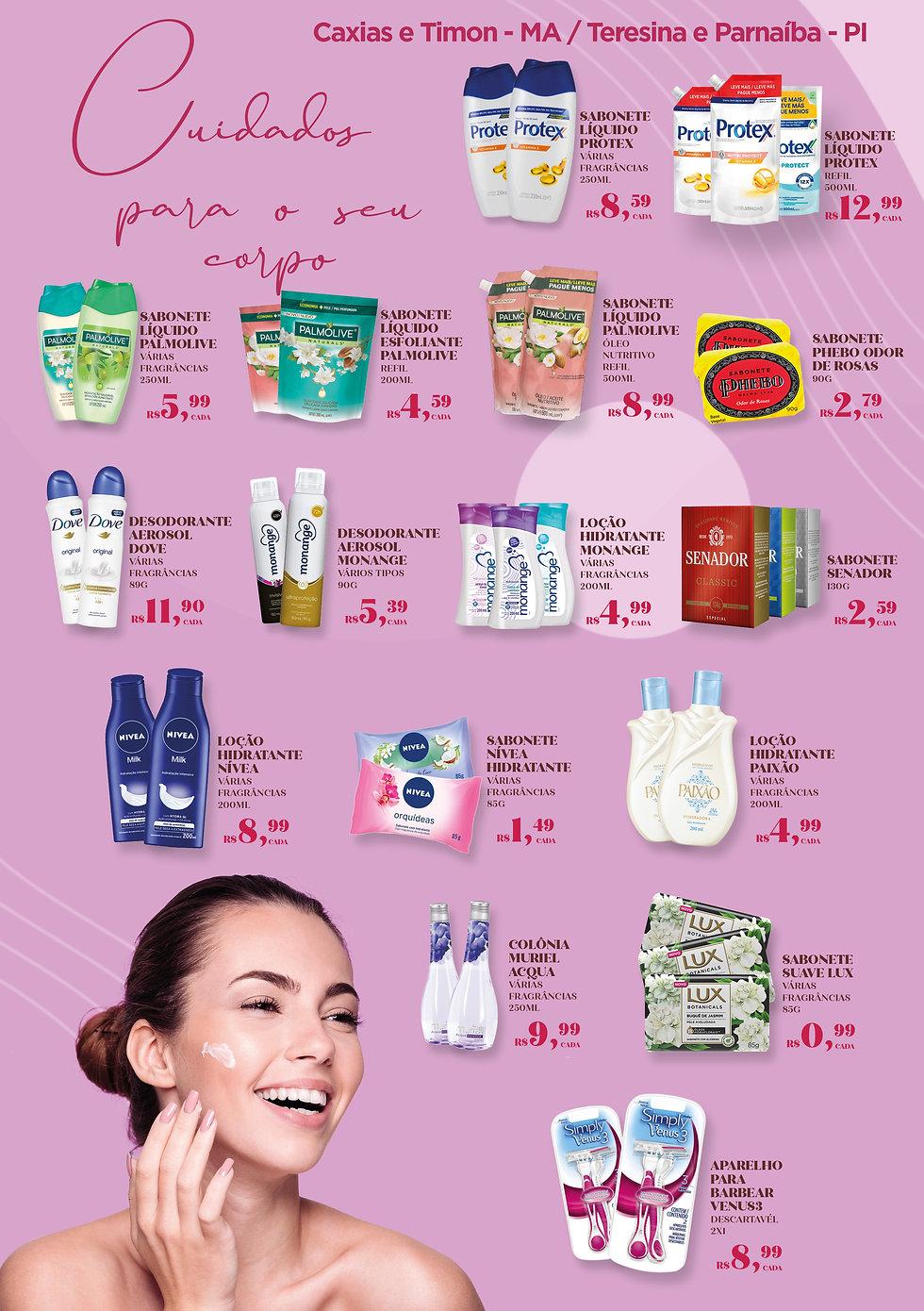Semana da Beleza 03 a 09 de março Cax T