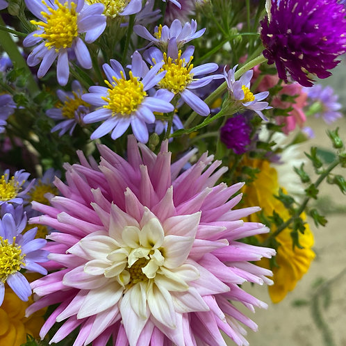 Bouquet delivery October 7 & 8