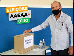 Eleições de Diretoria AAEAA | 1º de Outubro 2020.