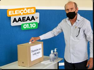 Eleições de Diretoria AAEAA   1º de Outubro 2020.