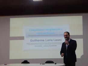 """Última palestra do Ciclo de Palestras 2018 Tema """"Compliance"""""""