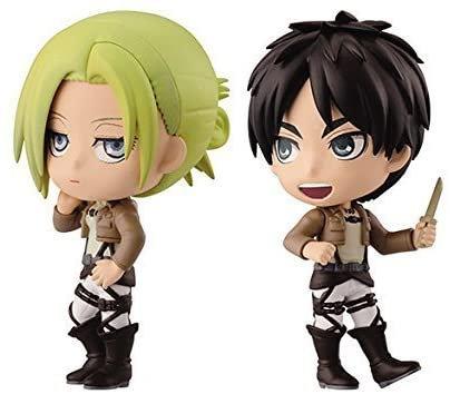 Annie et Eren Figurine Ichiban Kuji Prix F