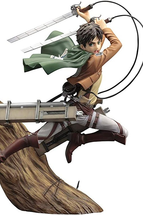 Eren Yeager Attack on Titan Figurine ARTFX J Renewal Package ver. Echelle 1/8