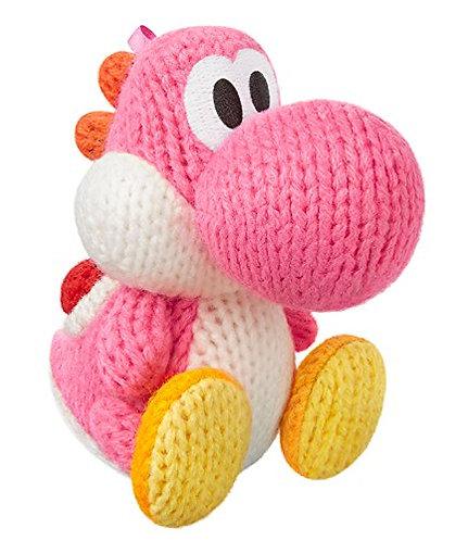 Amiibo Yoshi Pink (Yoshi Wool World Series)