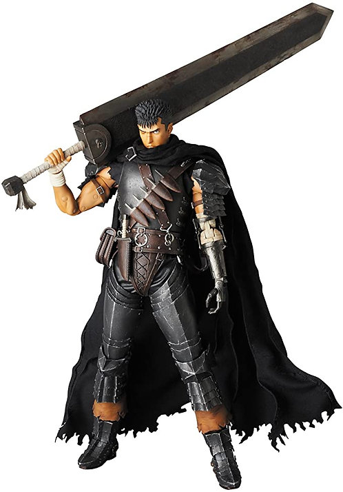 RAH (Real Action Heroes) Guts Black Swordsman Echelle 1/6