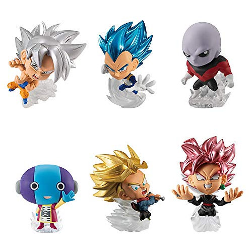 Lot de 12 Figurines et Chewing gum DB Super