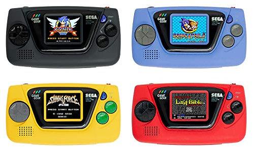 Game Gear Micro Ensemble complet avec 4 couleurs + grande fenêtre