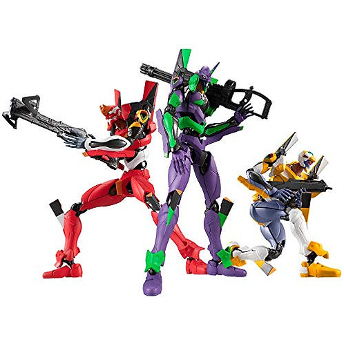 Evangelion New Theater Version 01 jouets et bonbons (8 Pieces)