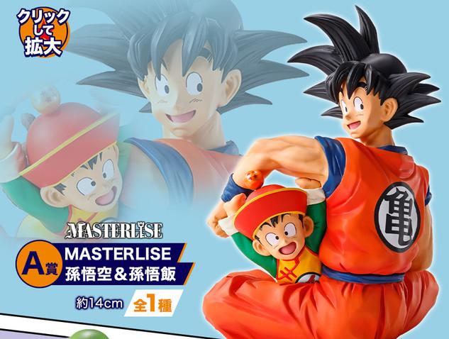Prix A Son Goku et Son Gohan Figurine Masterlise