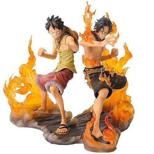 Luffy & Ace Figurine DX Brotherhood One Piece
