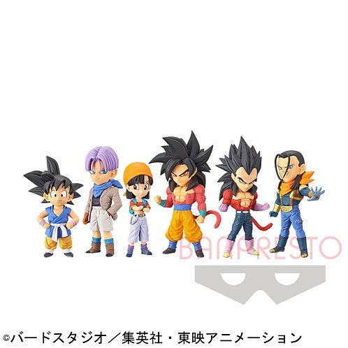 Lot de 6 Figurines DB GT WCF