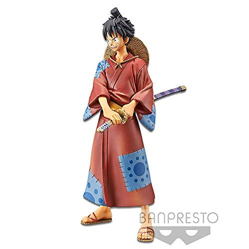 Monkey.D.Luffy Figurine DXF The Grandline Men Wanokuni