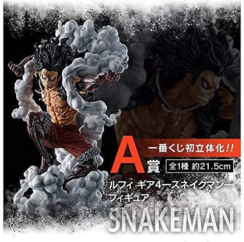 Luffy Gear 4 Snake Man Figurine Ichiban Kuji Battle Memories Prix A