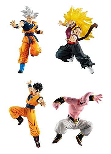 Lot de 4 Figurines DB Super vs DB