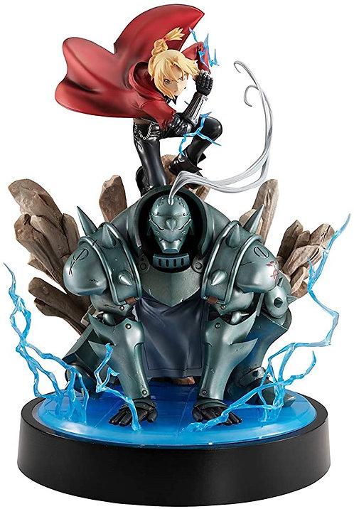 Edward et Alphonse Elric Brothers Figurines Série G.E.M.