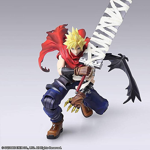Final Fantasy Cloud Strife Another Form Version Figurine Bling Arts