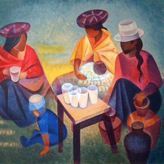 Le marché péruvien