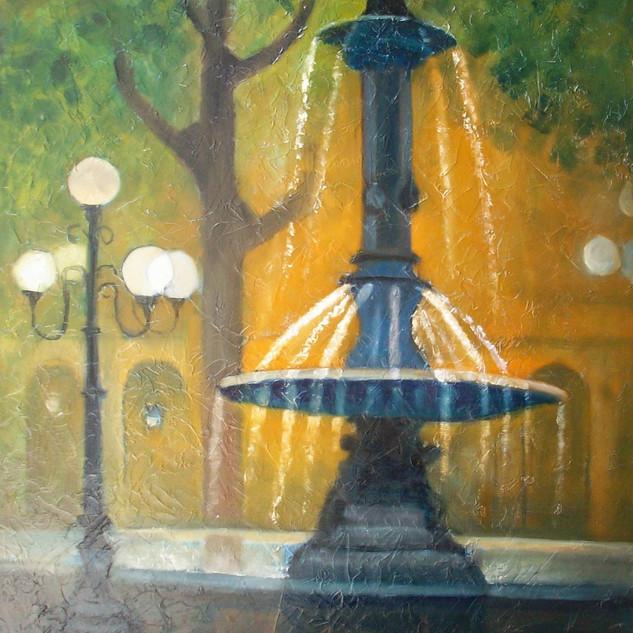 La fontaine du palais royal