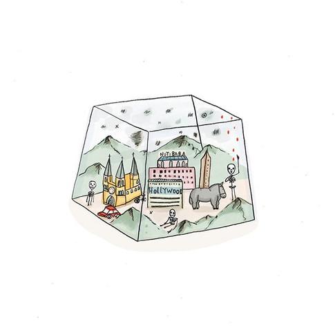 💀🌫 Ilustración para El Periodico Nexos