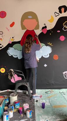 Proceso mural Selina