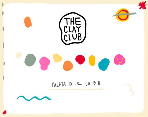 THE CLAY CLUB LOGO