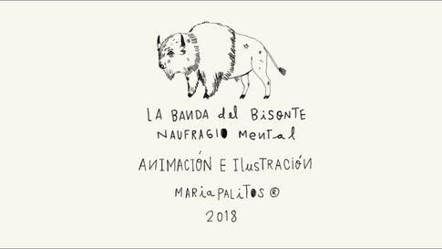 Naufragio mental - La Banda del Bisonte (Vídeo Oficial)