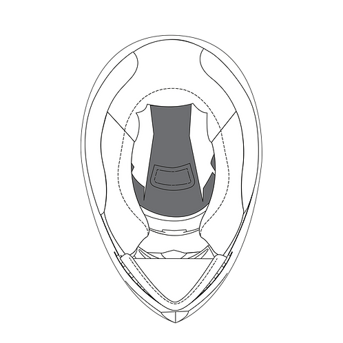 K3 SV 頭頂襯