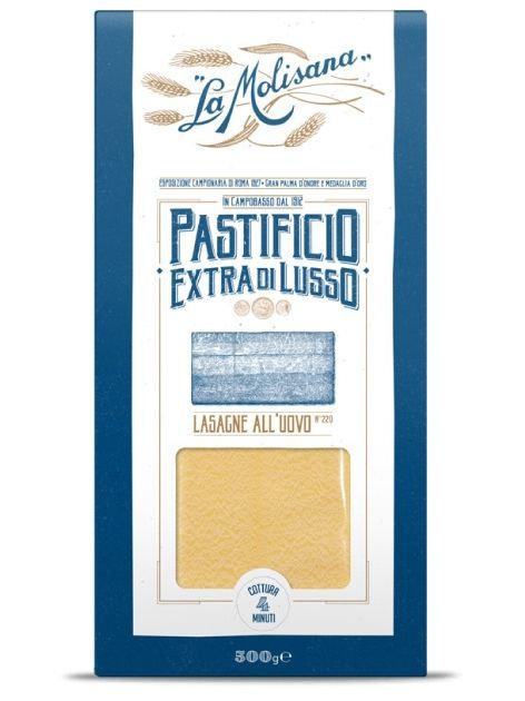 La Molisana EGG Lasagne Di Sfoglia Regina N.220 EXTRA DI LUSSO (500 Gr)