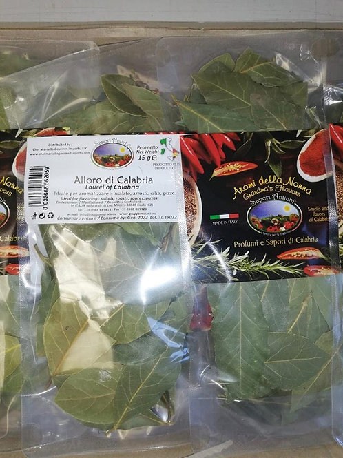 Alloro Secco (Dried Bay Leaves)